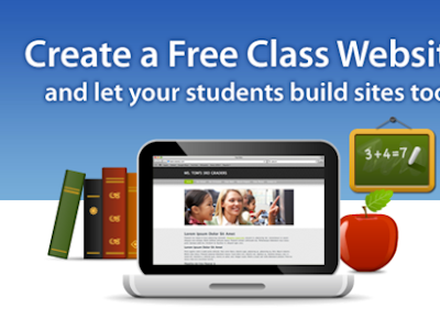 Two Simplke Web Tools to Create A Website for Your Class