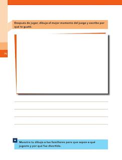 Apoyo Primaria Español 1er grado Bimestre 2 lección 19 ¡Todos a jugar!
