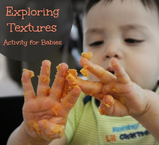 Exploring Textures: Activity for Babies