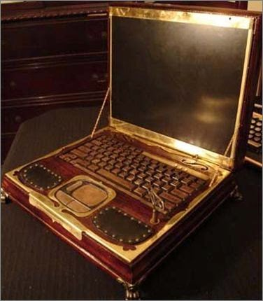 необычный чехол для ноутбука