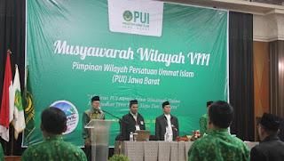 Jelang Muswil, Pengurus PUI Pusat Kunjungi DPW Jab