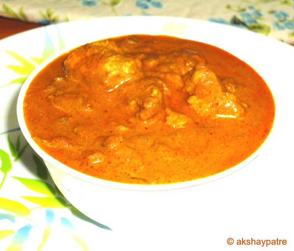 amritsari chicken masala curry ready to serve