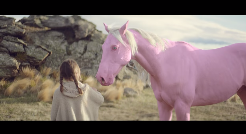 A Rainbow of Colored Horses Are The Stars Of This New Ad for the Honda CR-V