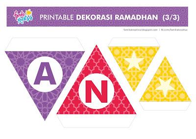 download gratis seri ramadhan - bendera dekorasi ramadhan