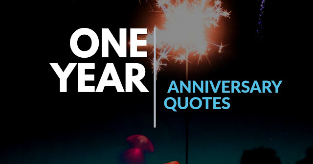 1 ONE  Anniversary Quotes 1th anniversary quote