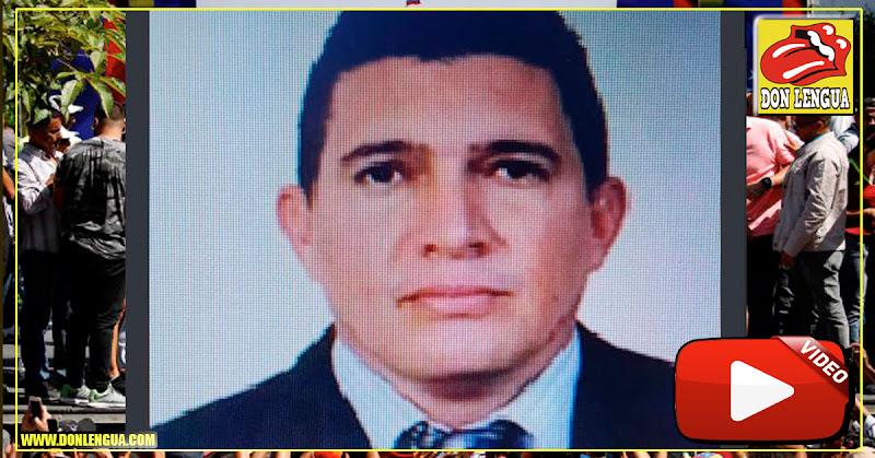 Régimen acusó a este comisario del SEBIN por la detención de Juan Guaidó