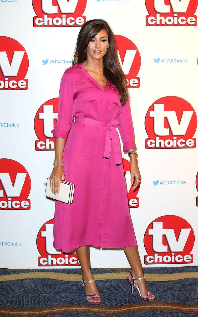 HQ Photos of Michelle Keegan At TV Choice Awards 2015 In London