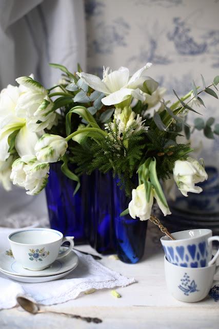 Suomi100-vuotta, #sinivalkoista_haaste, still life, blue-white