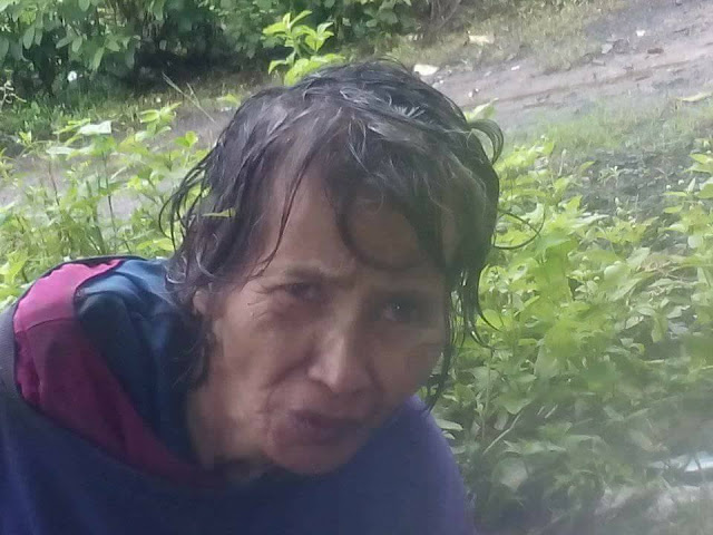 LOOK | kalunos-lunos ang kalagayan ng isang Matandang babae na inabanduna ng kanyang sariling anak