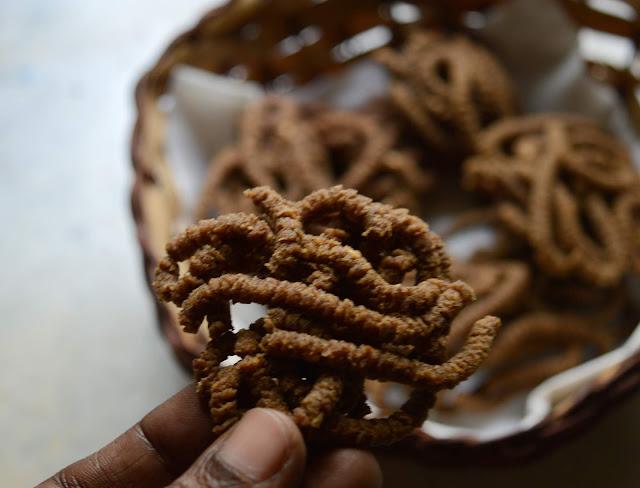 Ragi Murukku | Finger Millet chakli