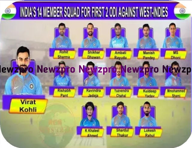 IND-WI: India-West Indies squad for ODI series, see which team is more dangerous??