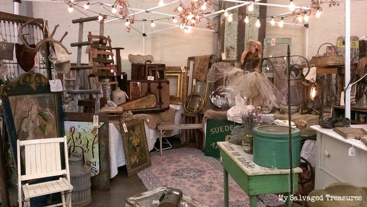 vintage for sale MySalvagedTreasures antique show