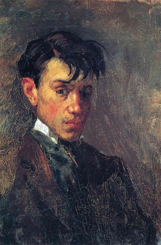 Autorretrato de Picasso en 1896, con 15 años