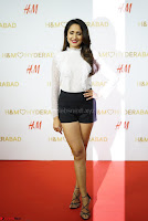 Pragya Jaiswal in lovely Black Mini Skirt and White Transparent Shirt ~  Exclusive 083.JPG