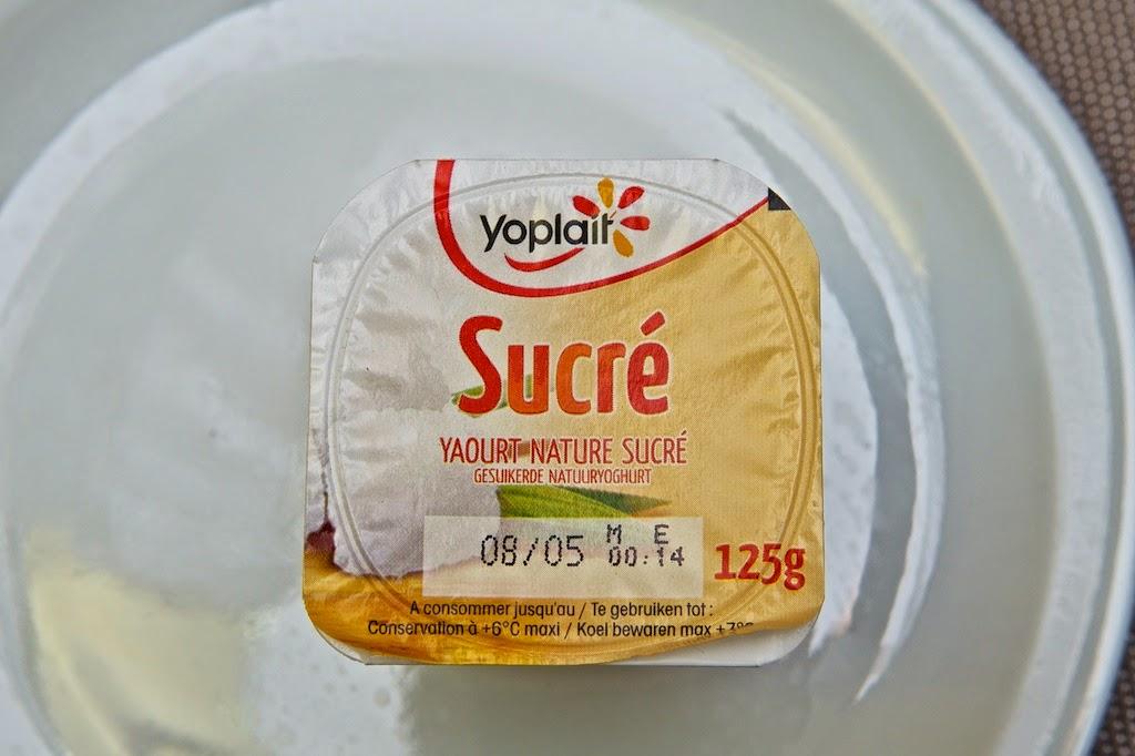 Yaourt Nature Sucré Yoplait - Dessert - Yoghurt - Sucre de canne