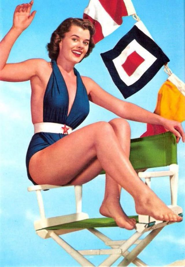 Vintage Swimwear Revisited 69 Glamorous Postcards Show