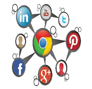 social network social media google plus