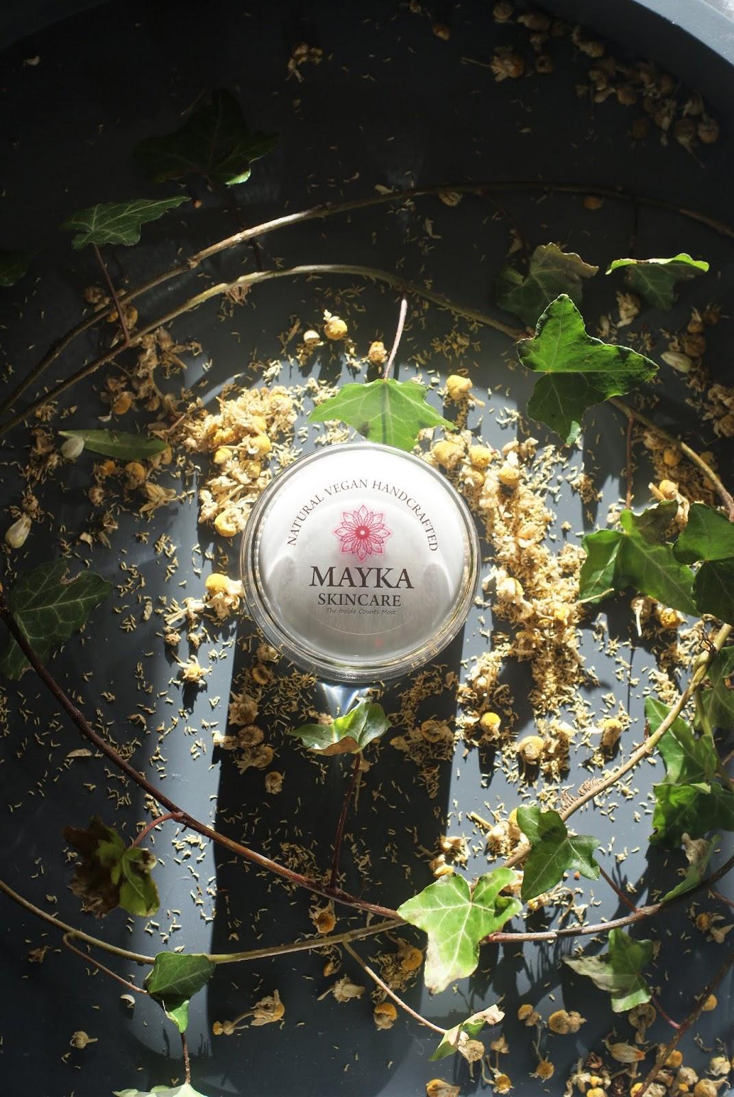 Vitamin C Collagen Boost. Krem z witaminą C i olejkiem tamanu, idealny dla problematycznych cer. Mayka Skincare.