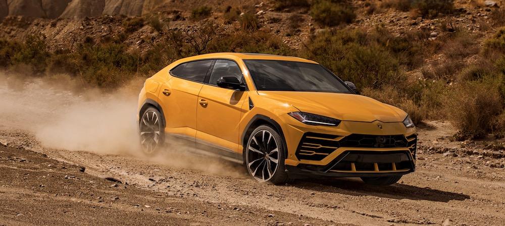 Colori Lamborghini Urus con Foto
