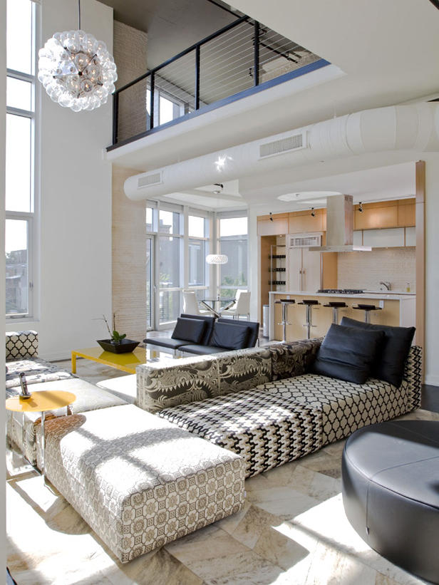 Modern Furniture: 2012 Living Room Design Styles From HGTV on Apartment Decorating Styles  id=91286