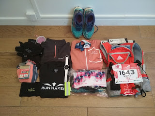 Race kit ecotrail Paris 80km