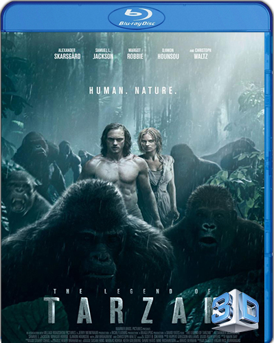 The Legend of Tarzan [2016] [BD50] [3D] [Latino]