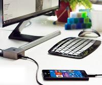 Lumia 950 XL подключается к док-станции и работать, используя внешний монитор, мышь и клавиатуру
