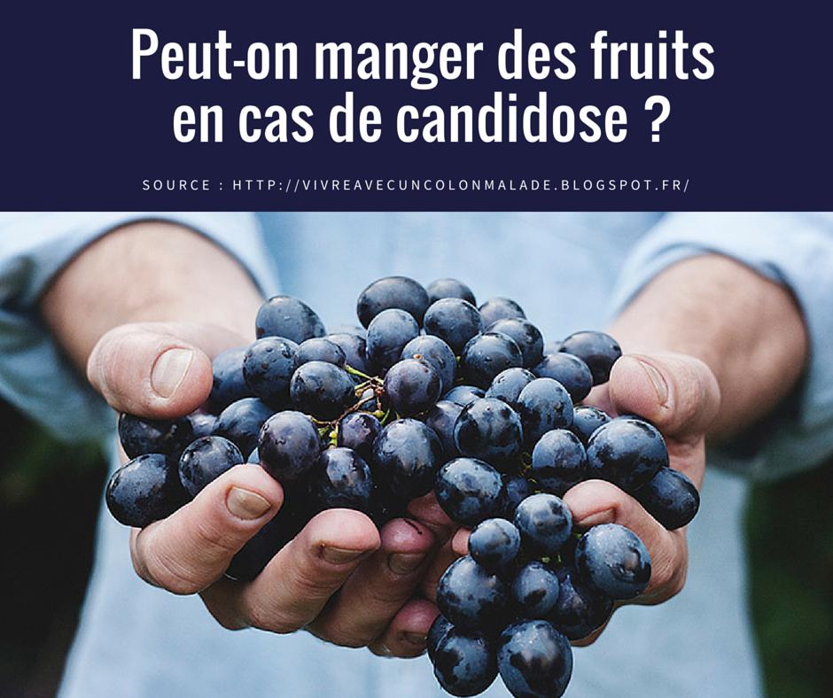 Peut-on manger des fruits lorsqu'on a une candidose ?