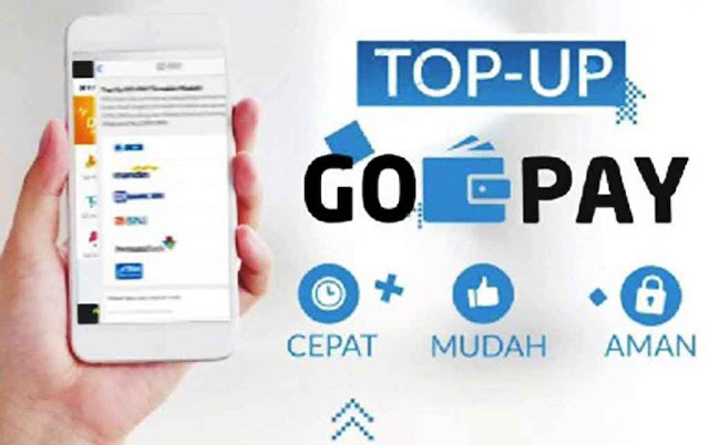 cara top up gojek