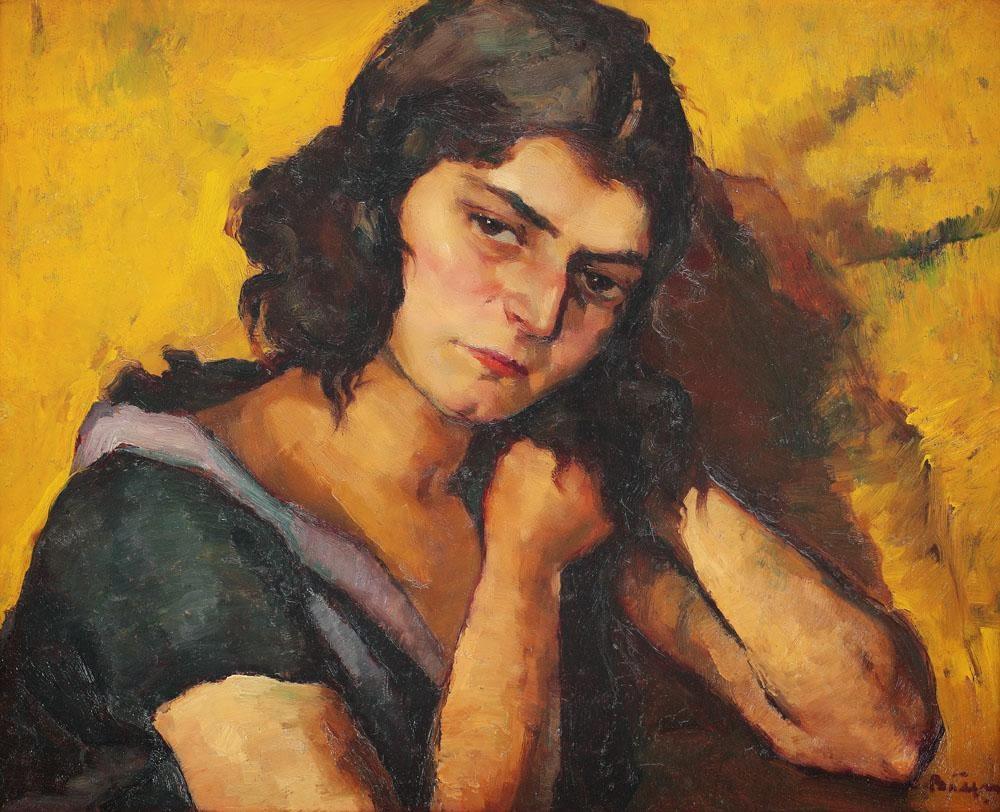 Aurel+B%25C4%2583e%25C8%2599u+ +Melancolie - 26 mai 1896 s-a nascut  Aurel Băeşu (d.24 august 1928, Piatra Neamţ) pictor român...