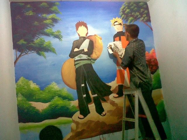 lukisan dinding kamar