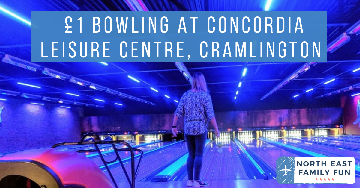 £1 Bowling at Concordia Leisure Centre, Cramlington