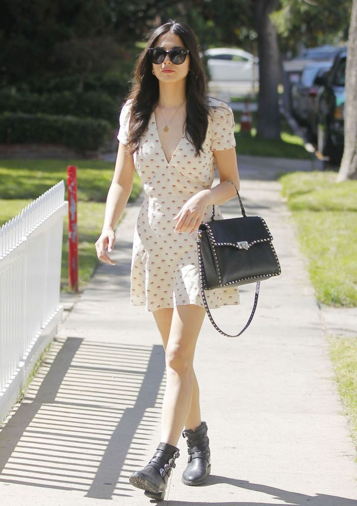 Jessica Gomes Spring Outfit Ideas in Beverly Hills