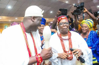 News: Oba Aromolaran visits Ooni, says he is revered monarch
