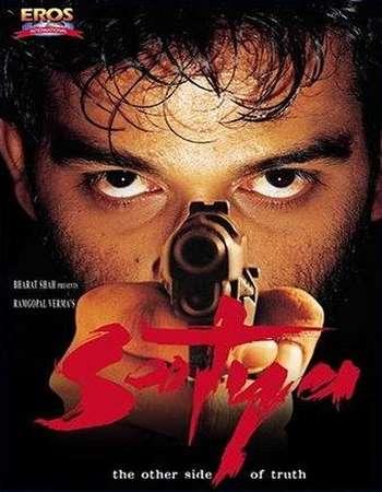 Poster Of Satya 1998 Hindi 550MB DVDRip 480p ESubs Watch Online Free Download downloadhub.net