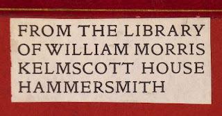 A William Morris bookplate.