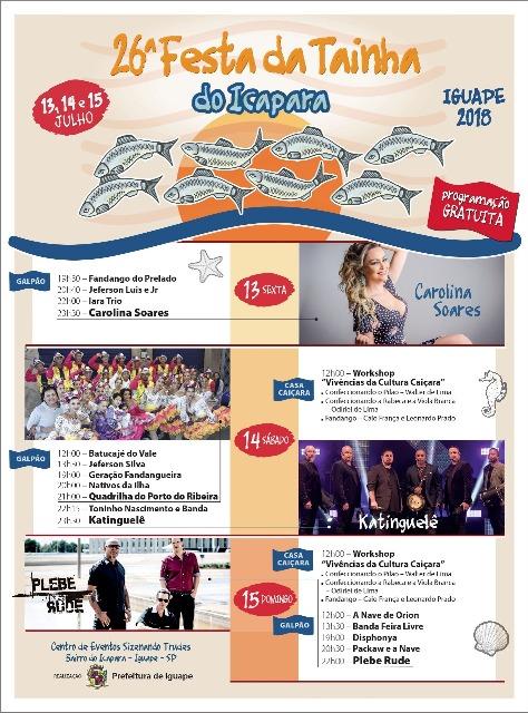 Festa da Tainha 2018 em Iguape