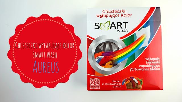 RECENZJA: Chusteczki wyłapujące kolor Smart Wash | Aureus