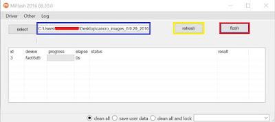 [Panduan] Cara untuk Flash Stock ROM MIUI di Perangkat Xiaomi - fastboot 10
