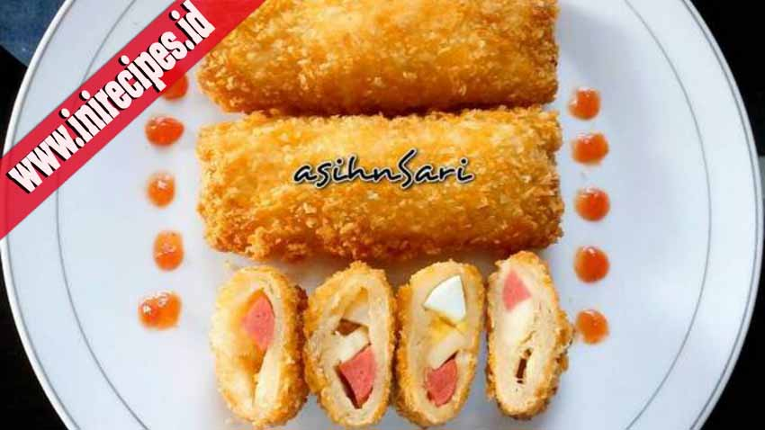 Resep Risol Roti Tawar Sosis Mayonnaise. Gampang Banget dan Enak Bangeet