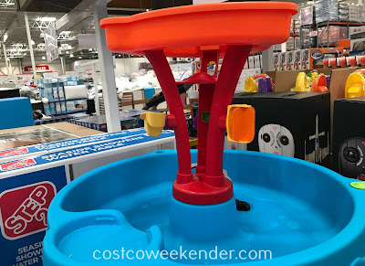 Let your child's imagination run wild with the Step2 Seaside Showers Water Table