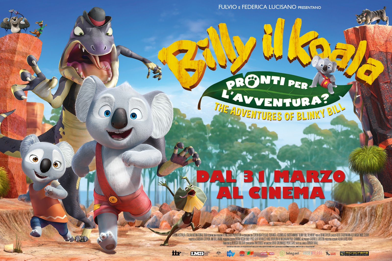 Mamme come me billy il koala the adventures of blinky billy un