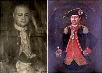 Bernardo De Gálvez, Retrato, Pedro George, Capitán del Galveztown, Florida, Pensacola