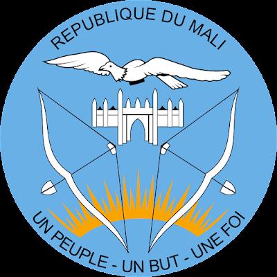 Coat of arms - Flags - Emblem - Logo Gambar Lambang, Simbol, Bendera Negara Mali