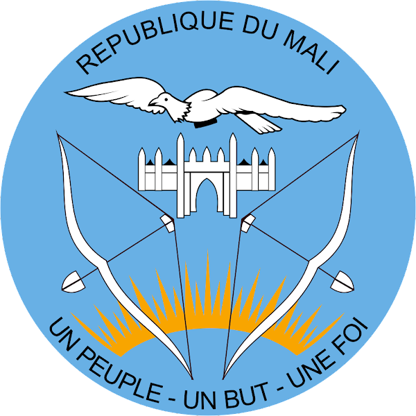 Logo Gambar Lambang Simbol Negara Mali PNG JPG ukuran 600 px