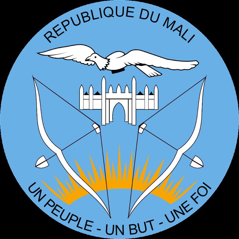 Logo Gambar Lambang Simbol Negara Mali PNG JPG ukuran 800 px