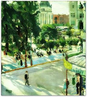 João Fahrion - Praça da Alfândega (1924)