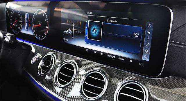 Mercedes E350 AMG 2019 sử dụng Hệ thống giải trí hàng đầu của Mercedes