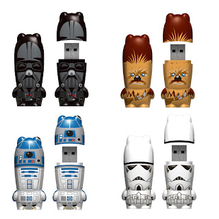 Memoria flash o usb creativa StarWars