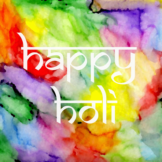 Happy Holi!  ~ Alternate Creations